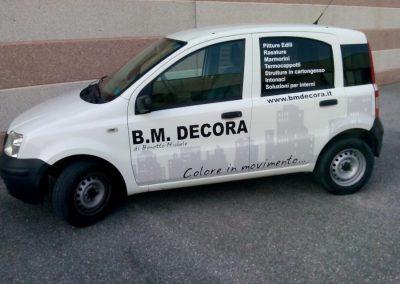 Scritte adesive per auto bm decora