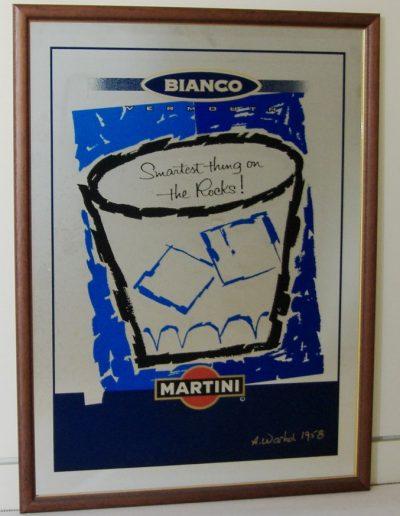 Specchi colorati Martini bianco