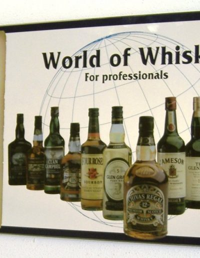 Specchi decorati World of Whisky